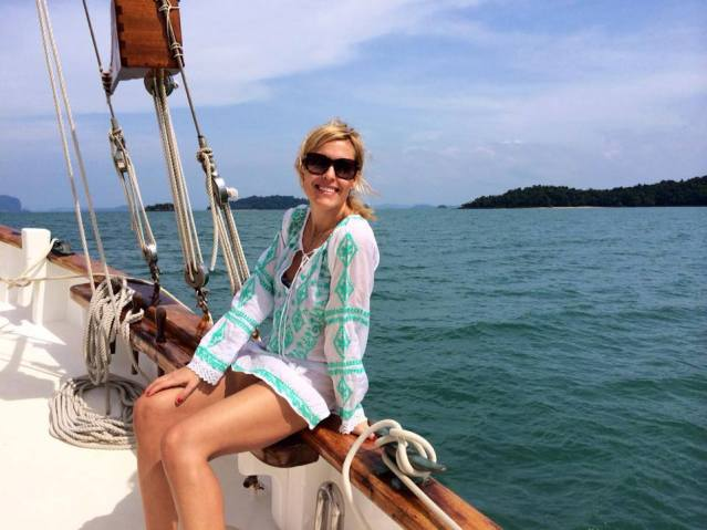 Tiffany Dowd in Phuket, Thailand
