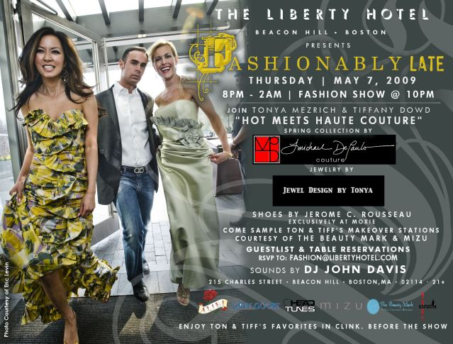 Liberty Hotel Fashion Show Featuring Michael De Paulo Couture