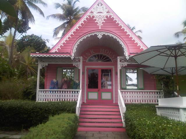 The Pink House, Mustique
