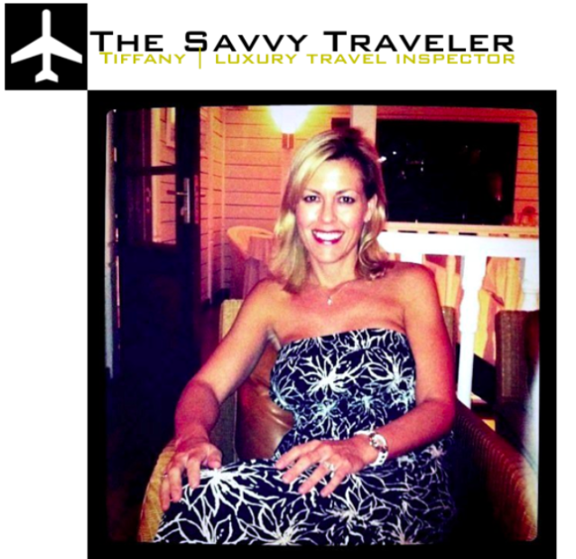 The Savvy Traveler : Luxe Tiffany