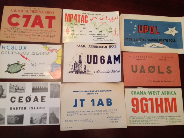International Ham Radio Postcards