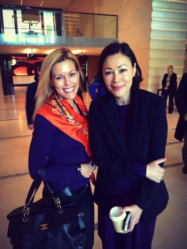 Tiffany Dowd and Ann Curry