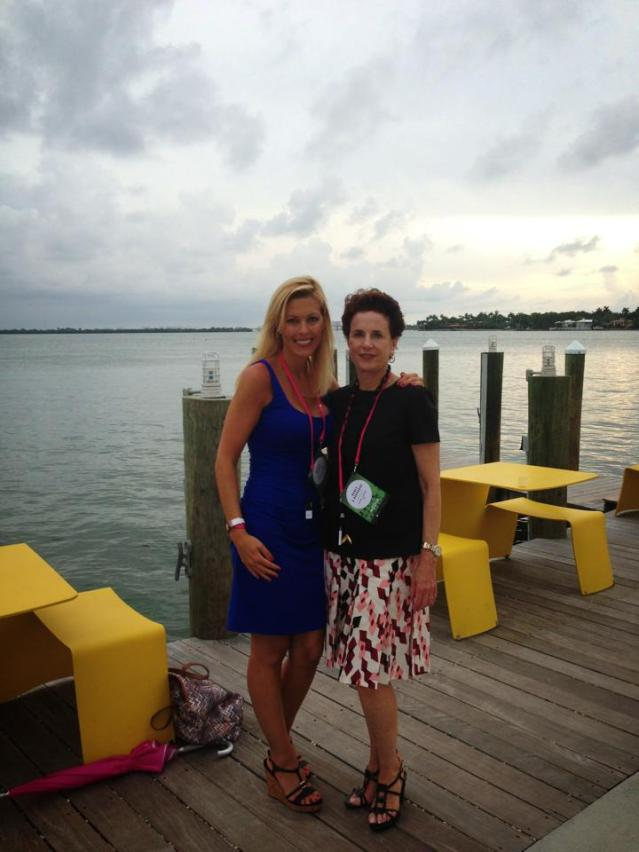 Tiffany and Nancy Novogrod, Editor in Chief of Travel + Leisure magazine