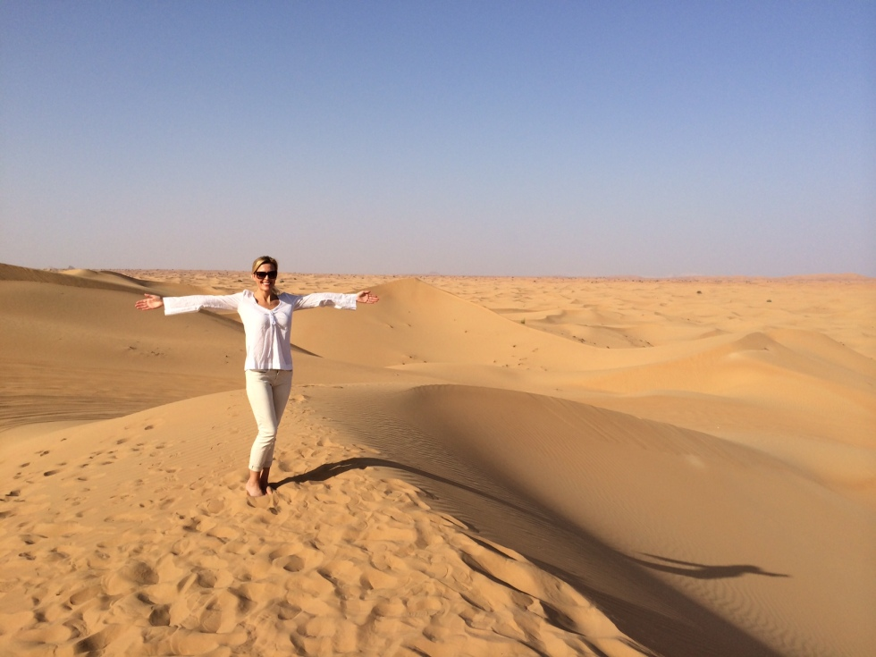 Tiffany in Arabia