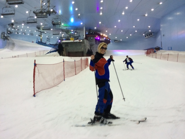 Hit the slopes at Ski Dubai