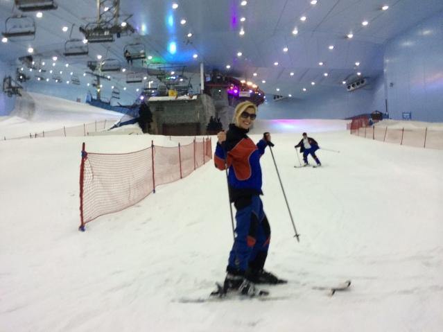 Hit the slopes at Ski Dubai