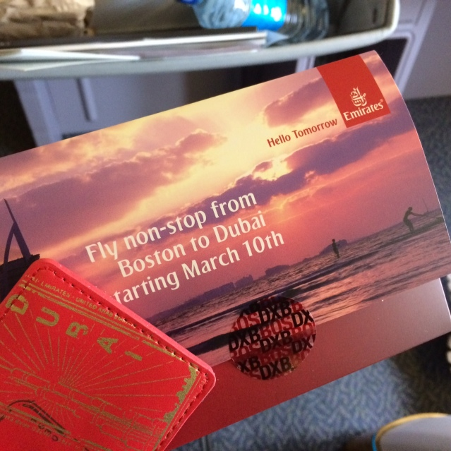 Hello Boston - New route between Boston and Dubai started March 10th and operating daily