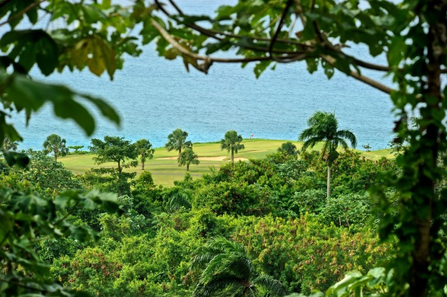 Amanera golf course ocean view